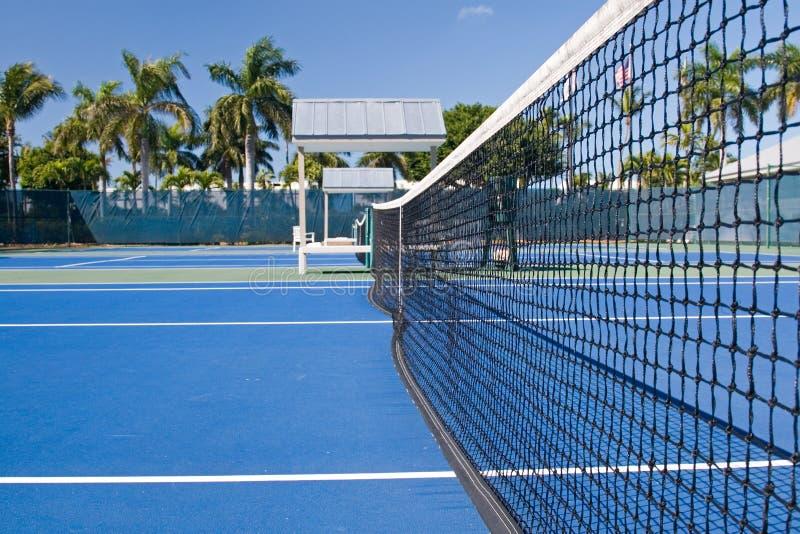 Club de tenis del centro turístico fotografía de archivo libre de regalías