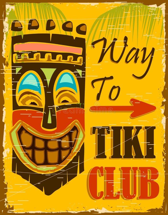 Club de Tiki illustration de vecteur
