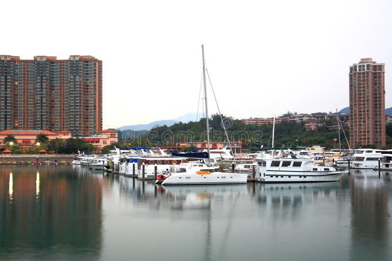 Club de yacht photos libres de droits