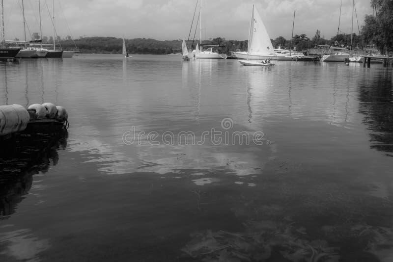 Club de yacht photo stock
