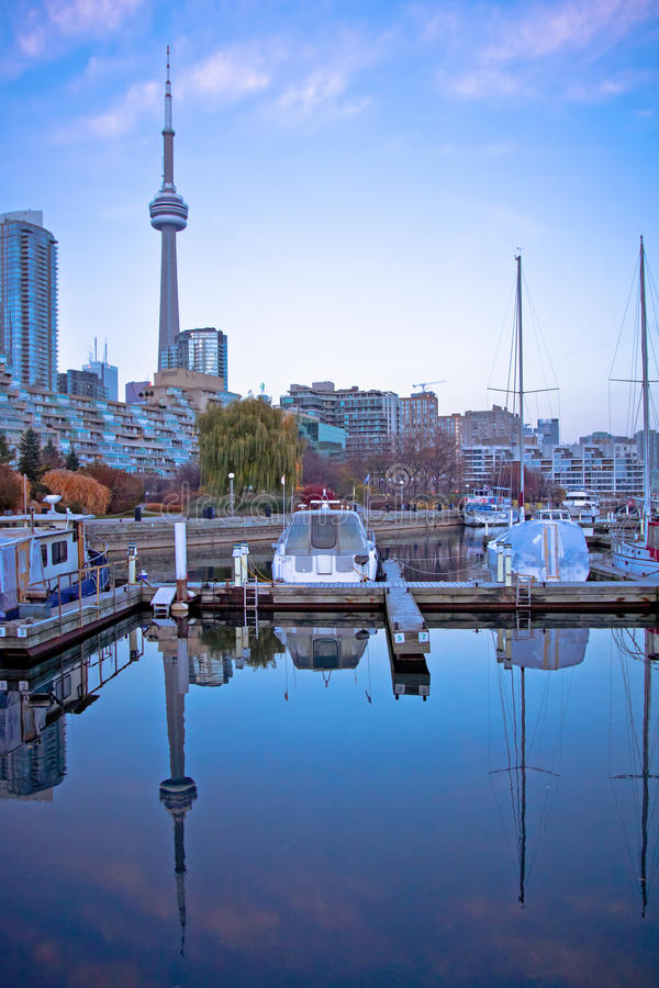 Club de yacht de Toronto photographie stock