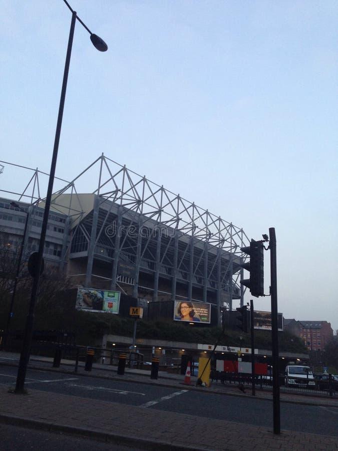Club di calcio di Newcastle United fotografie stock libere da diritti