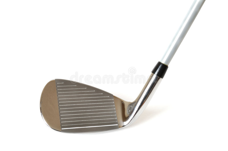 Club di golf del cuneo di lancio immagine stock libera da diritti