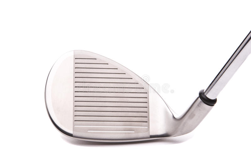 Club di golf del cuneo di sabbia immagini stock