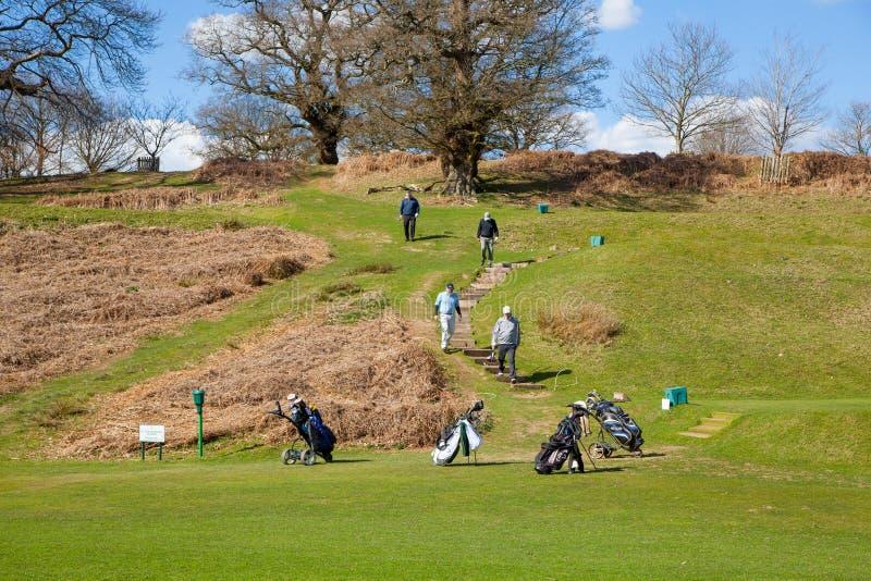 Club di golf del locale di Knole l'inghilterra fotografie stock