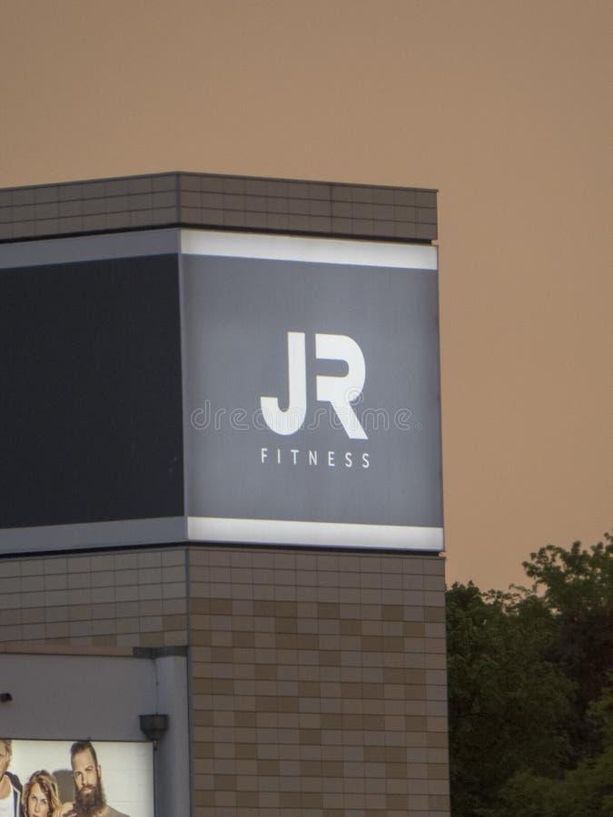Club di John Reed Fitness a Berlino fotografia stock libera da diritti