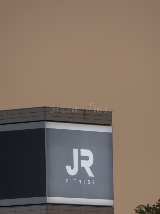 Club di John Reed Fitness a Berlino fotografia stock