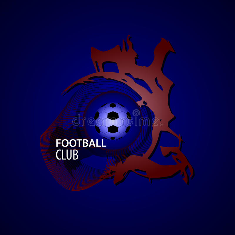 Club du football illustration stock
