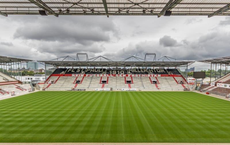 Club du football de St Pauli, Hambourg images stock