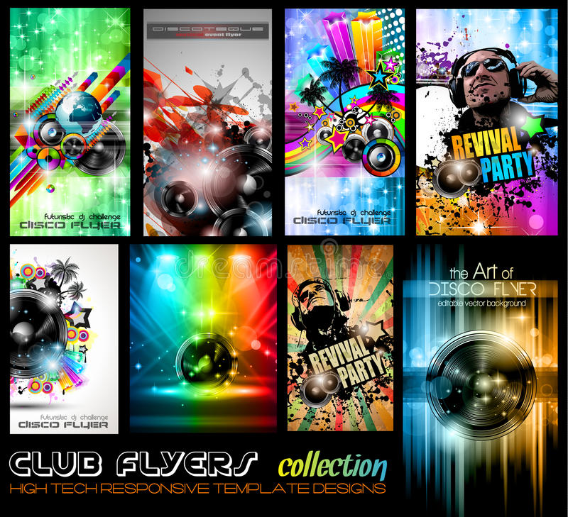 Free Club Flyers Ultimate Collection - High Quality Stock Photography - 27718372