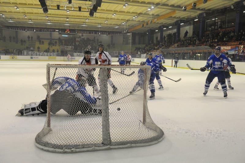 Club Milano del hockey fotos de archivo
