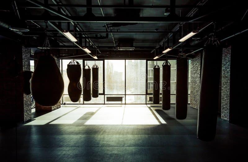 Club moderno de la lucha foto de archivo libre de regalías