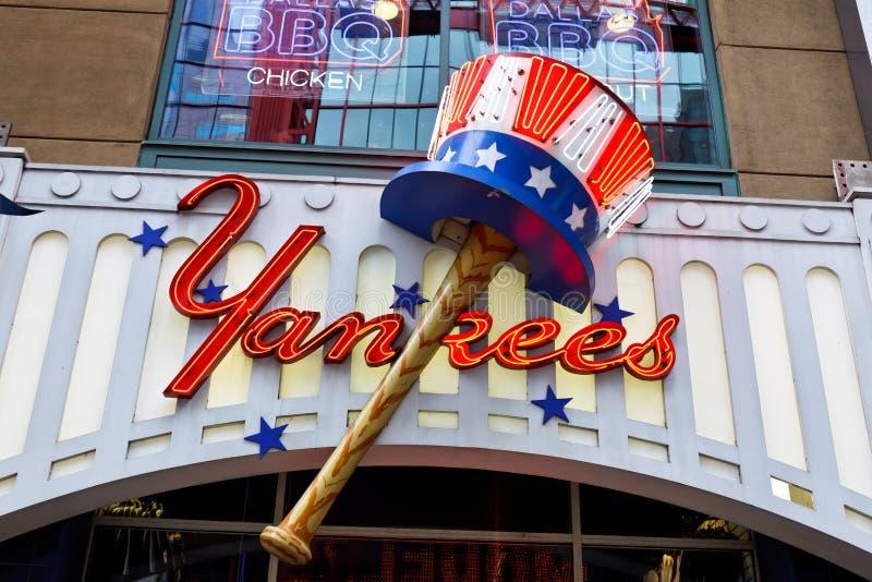 Club New York City de los yanquis foto de archivo libre de regalías