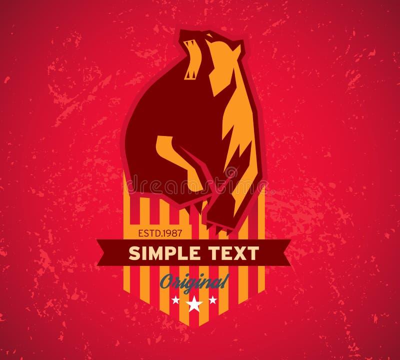 Club original, logo et graphiques de T-shirt, illustration de vecteur