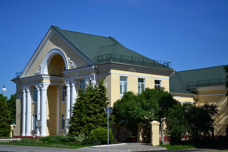 Club in Pinsk stock images