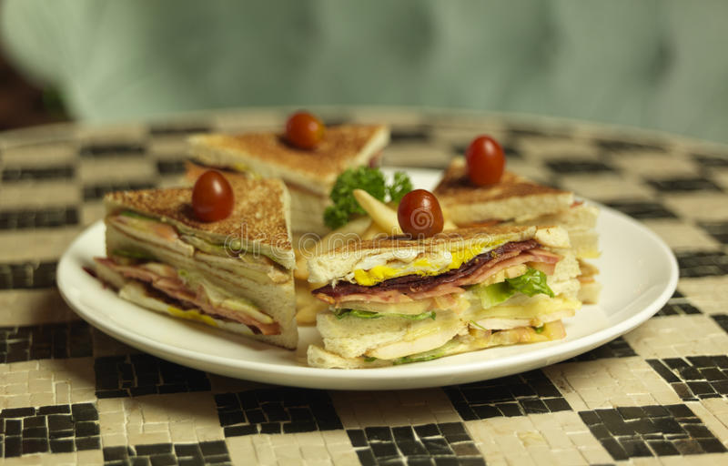 Download Club Sandwich Royalty Free Stock Photos - Image: 18571148