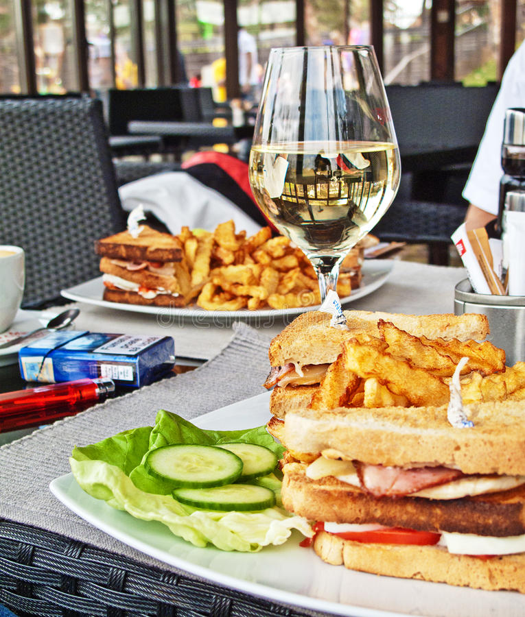 Club Sandwich stockbilder