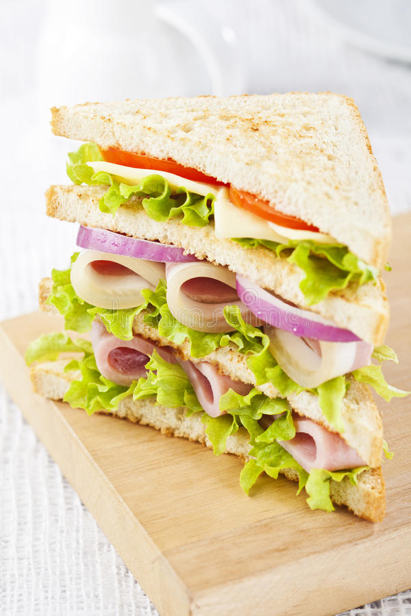 Free Club Sandwich Royalty Free Stock Photography - 29705337
