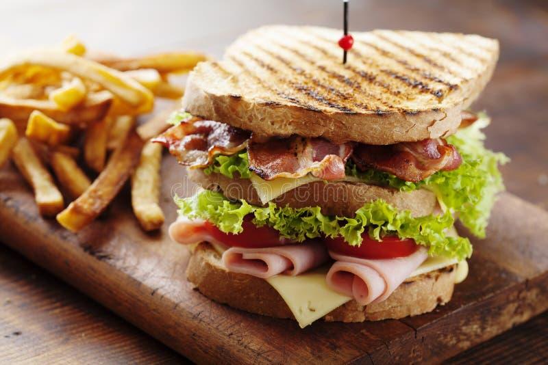 Club Sandwich lizenzfreies stockfoto