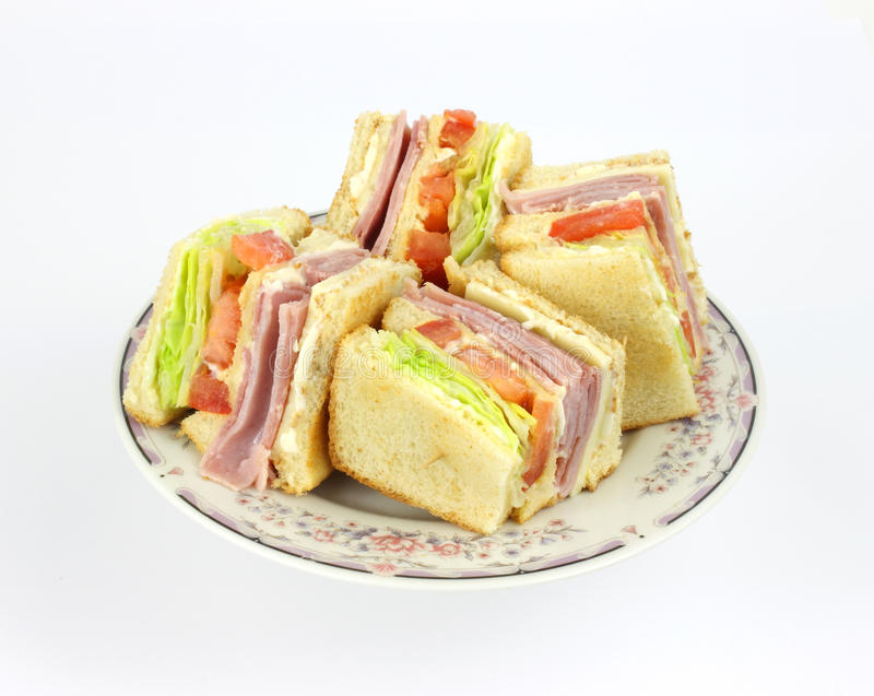 Download Club Sandwich Angle stock image. Image of product, meal - 13513231