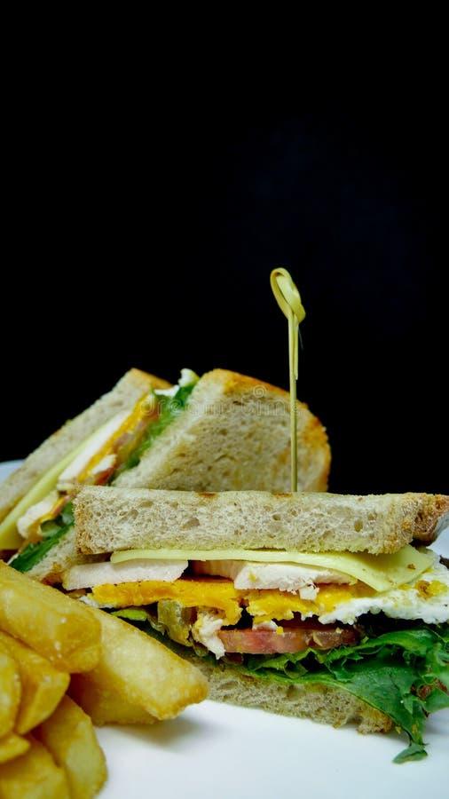 Club Sandwiche lizenzfreie stockfotos