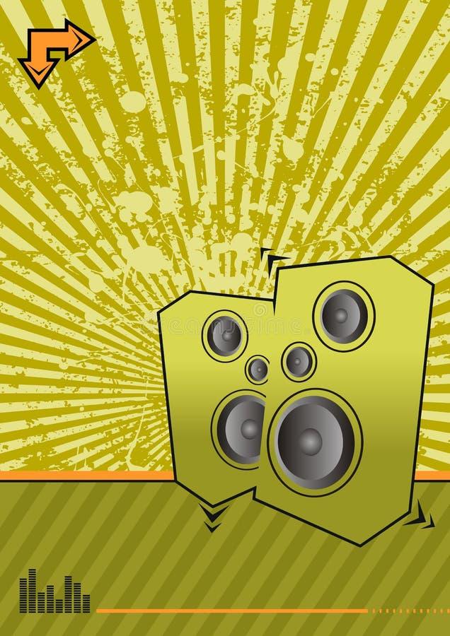 Club vert illustration libre de droits