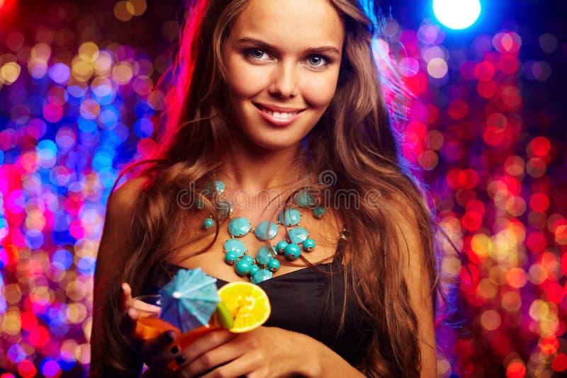 Clubber Charming foto de stock royalty free