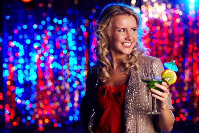 clubber szczęśliwy zdjęcia stock