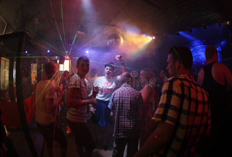 Clubbers 016 stock afbeelding