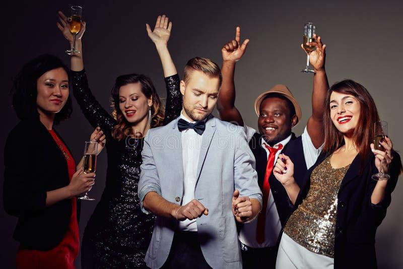 clubbers royalty-vrije stock foto