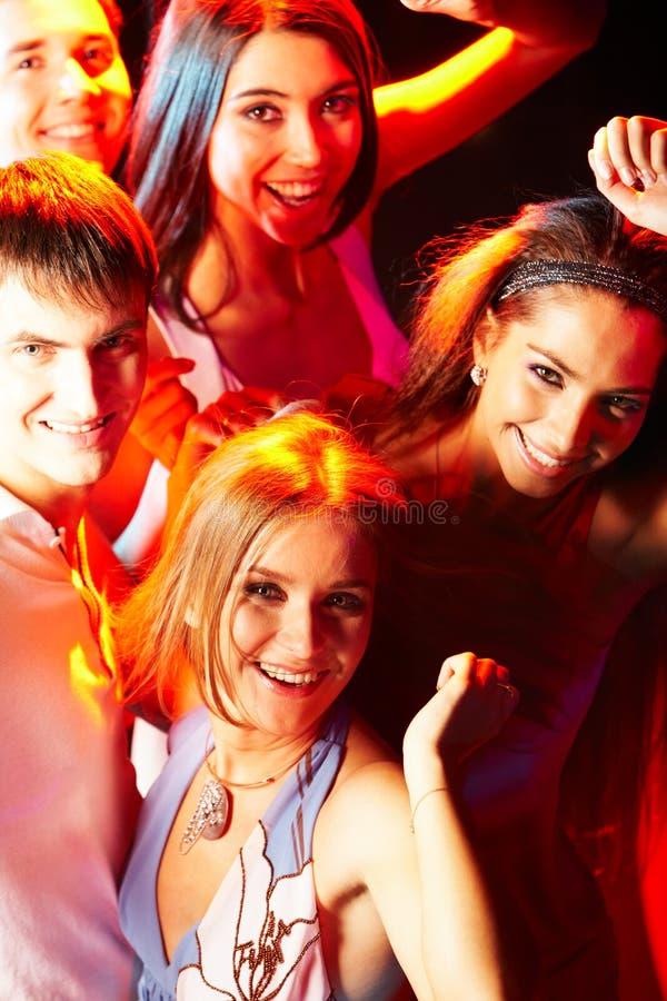 Clubbers intelligents photos libres de droits