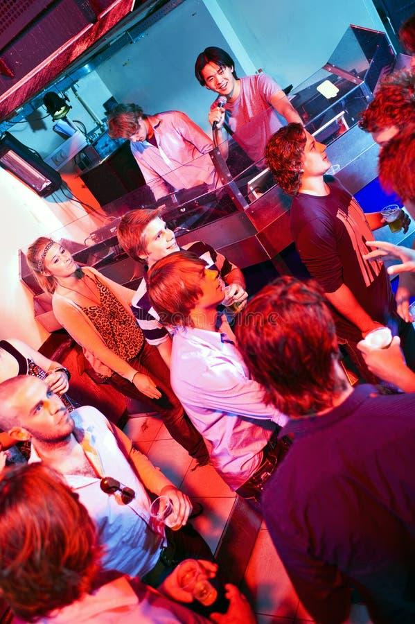 Clubbing stock image