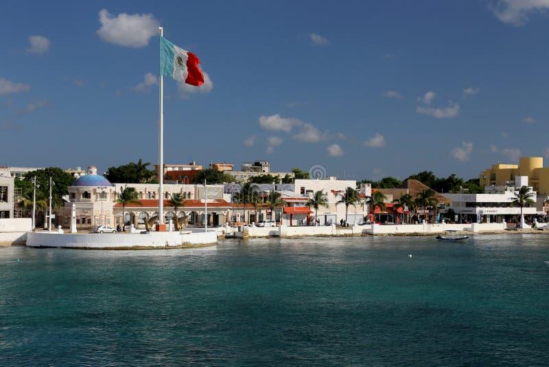 Clube da praia em Cozumel