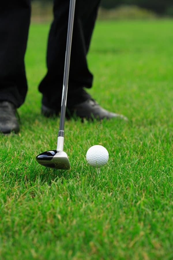 Clube de golfe imagem de stock royalty free