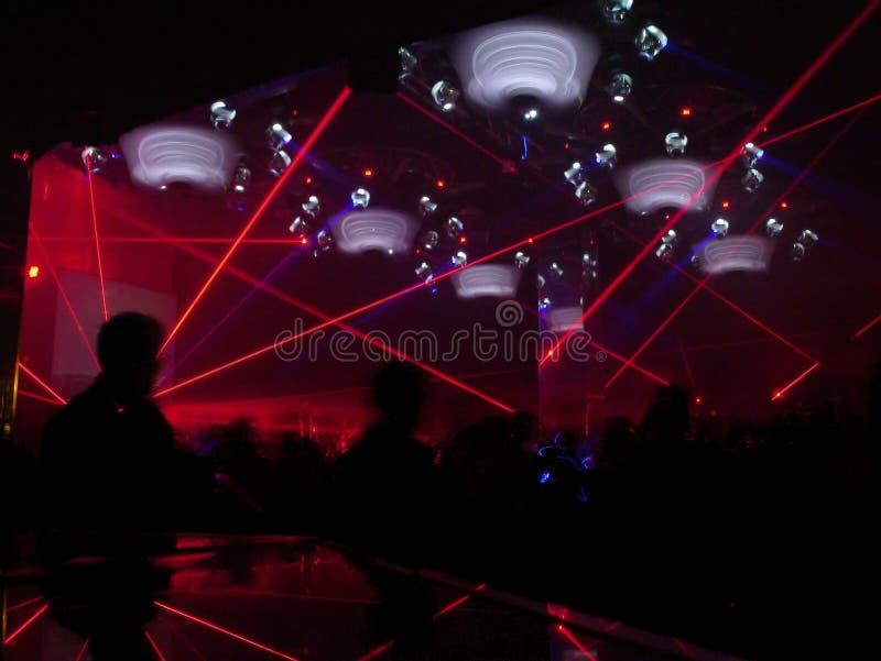 Clube nocturno (2) fotografia de stock