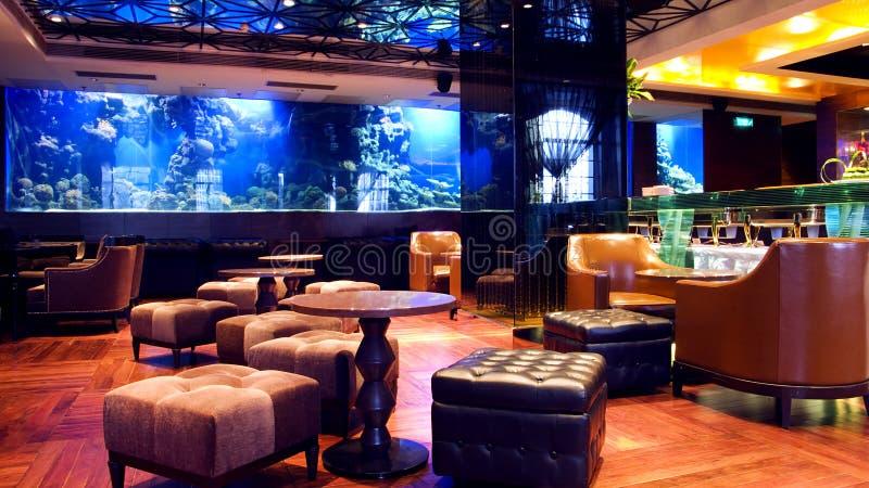 Clube nocturno luxuoso imagem de stock royalty free