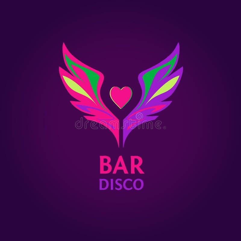 Clube noturno, disco, partido da praia, barra, mostra ilustração royalty free