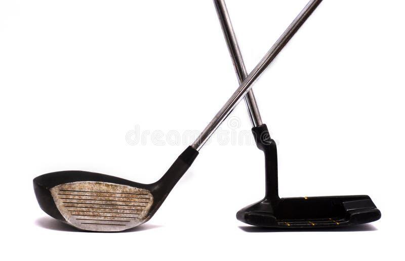 Clubs De Golf Photos stock