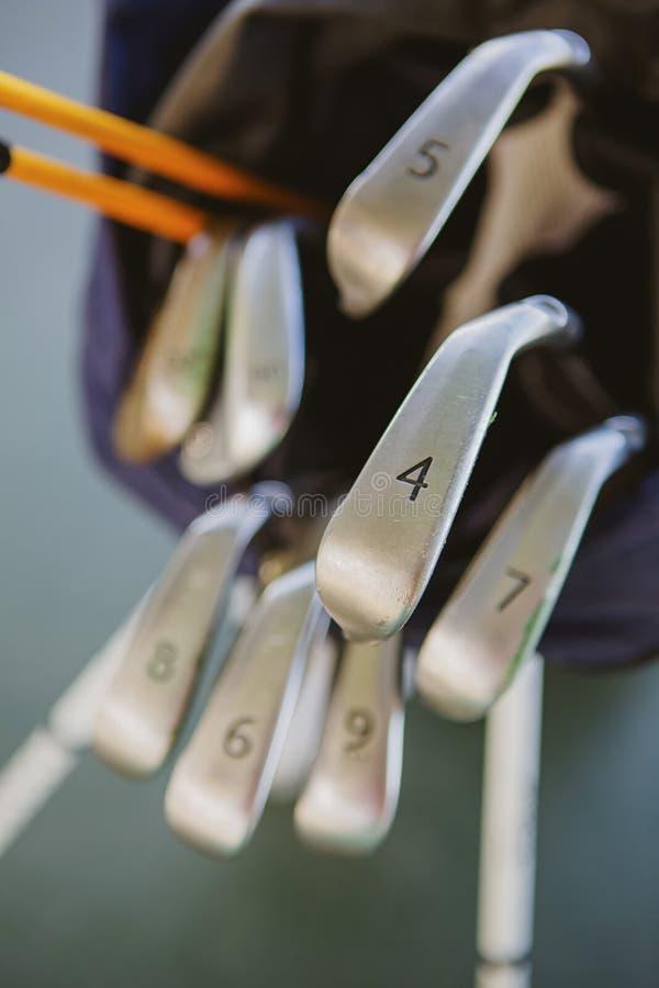 Clubs de golf sales images stock