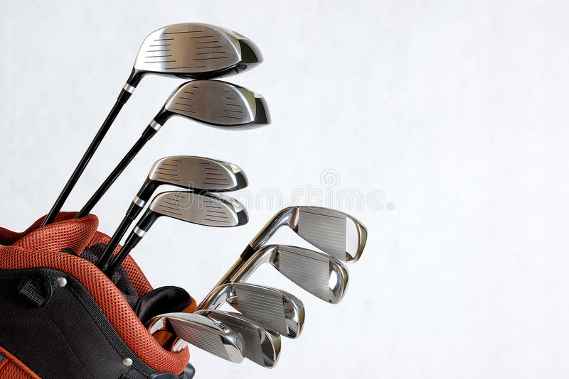 Clubs de Golg images stock