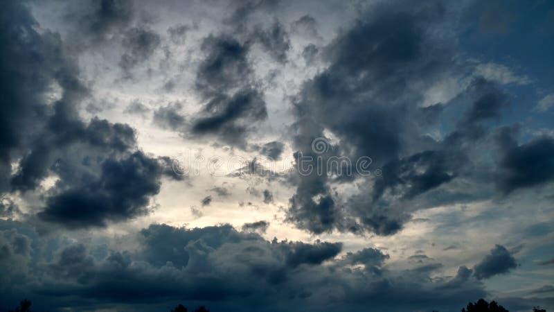 Cluds della tempesta immagini stock