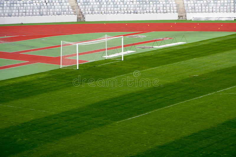 Cluj Arena. View of Cluj Arena the football field stock images