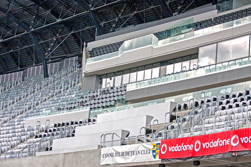 Download Cluj Arena editorial photography. Image of field, fold - 27831672