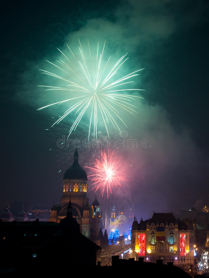Download Cluj Entering 2013 editorial photo. Image of party, square - 28422211