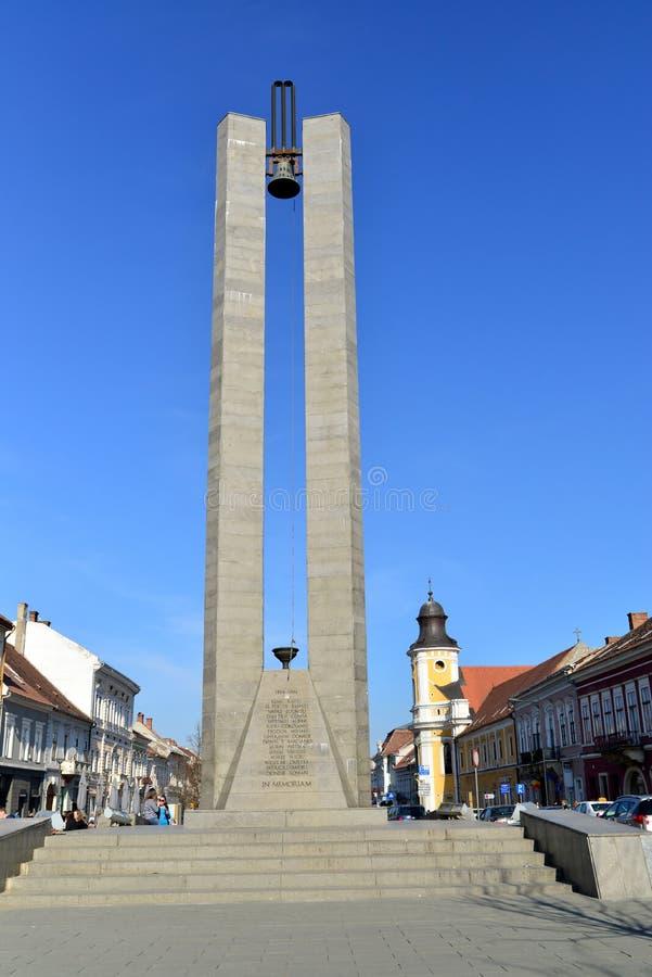 Cluj Memorandum Monument. CLUJ NAPOCA, ROMANIA - 03.04.2017: heroes boulevard Memorandum Monument landmark architecture royalty free stock photos
