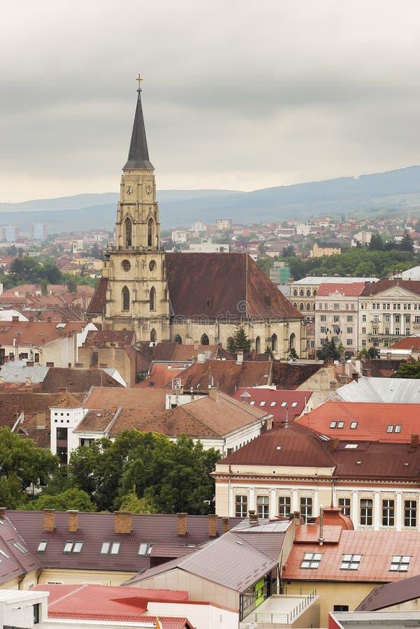 Cluj Napoca royalty-vrije stock afbeeldingen