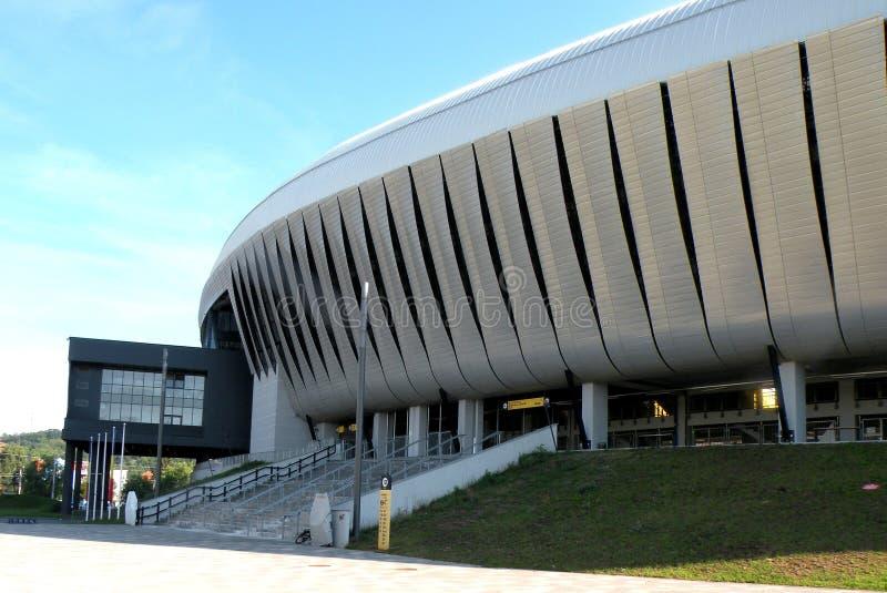 Cluj Napoca arena arkivbild
