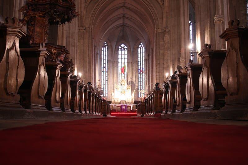 Cluj Napoca katedra obraz stock