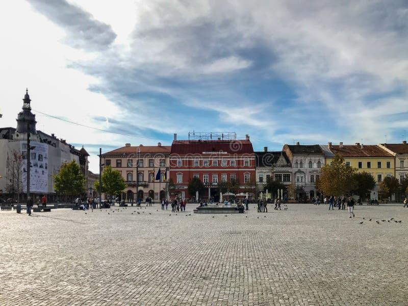 Cluj Napoca, Romênia - 15 de outubro de 2017: Vista dianteira do renovado imagem de stock royalty free