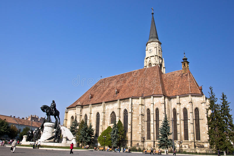 Download Cluj-Napoca. St. Michael's Church. Editorial Stock Image - Image: 23058379